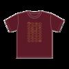 たい焼きTシャツ(バーガンディー)