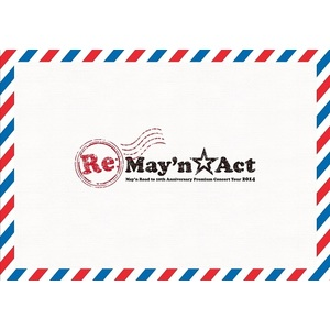 "May'n Road to 10th Anniversary Premium Concert Tour 2014 ""Re:May'n☆Act"" Concert Program Booklet"