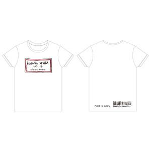 「Hang jam vol.4」 Tシャツ(ホワイト Made in May'n ver.)